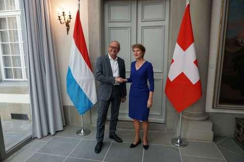 Turmes Visite d'étude en Suisse